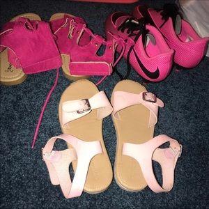 Toddler size 11 shoe bundle